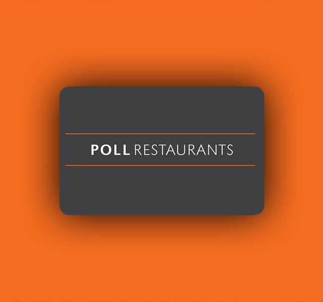 Poll Restaurant Gift Card